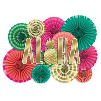 Kit de décorations tropical aloha
