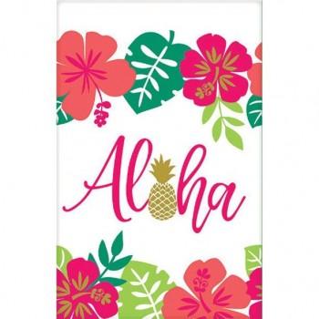 Nappe de table tropical aloha