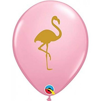 Ballon latex flamants rose fête estivale en Suisse