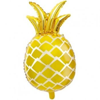 ballon ananas doré déco tendance
