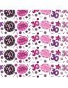 confettis 30 ans rose