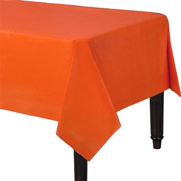 Nappe de table orange