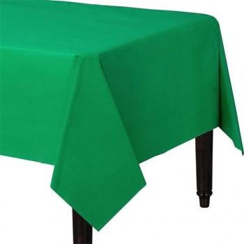 nappe en plastique vert