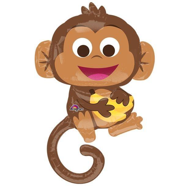 ballon petit singe la jungle