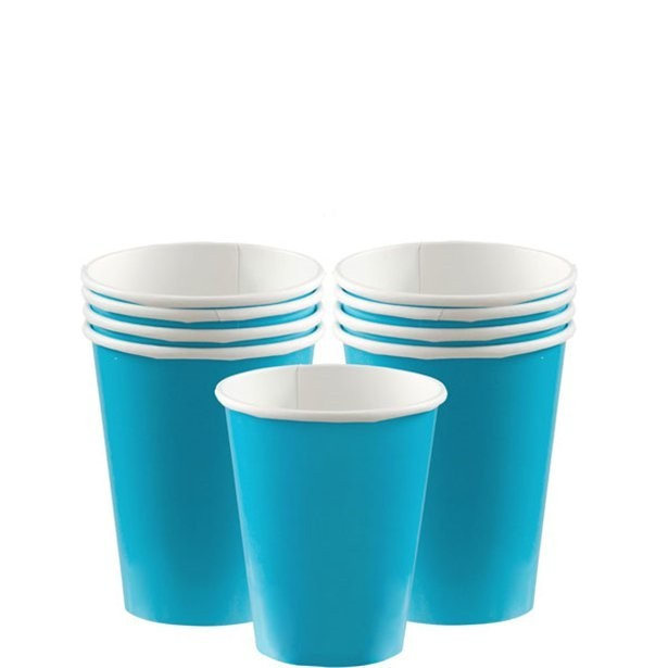 gobelets turquoise