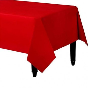 nappe de table de fête rouge