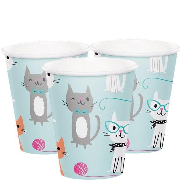 gobelets anniversaire petits chats