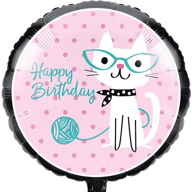 ballon anniversaire petits chats