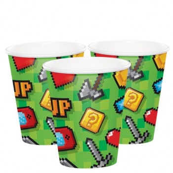 gobelets anniversaire jeux video gaming