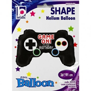 ballon géant anniversaire jeux vidéo gaming