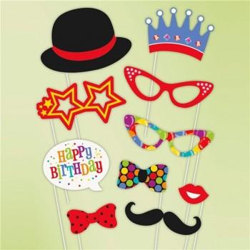 accessoires photo anniversaire thème le cirque