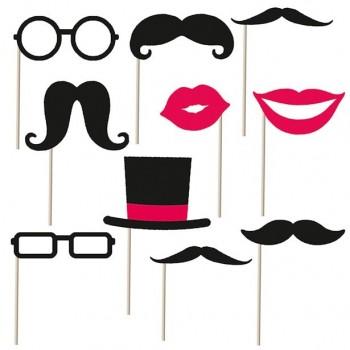 accessoires photobooth tendance moustache