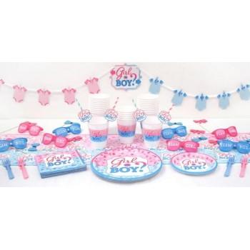 Décorations baby shower surprise disponibles sur www.bellefete.ch en suisse