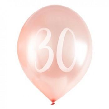 ballons anniversaire femme 30 ans