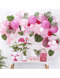 Arche de ballons rose