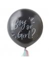 ballon qui révèle le sexe de bébé