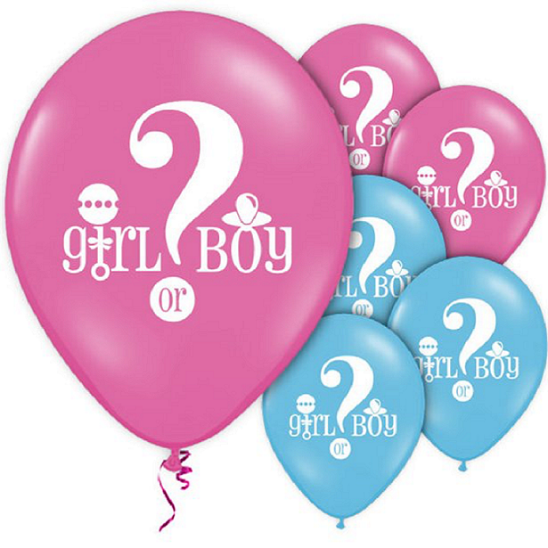 ballons baby shower surprise