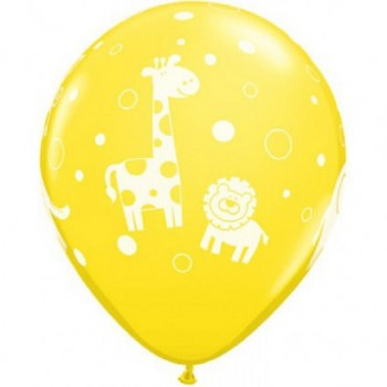 Ballons la jungle anniversaire