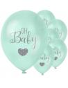 BALLONS BABY SHOWER VERT MENTHE OH BABY