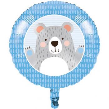 Ballon 1er anniversaire ourson