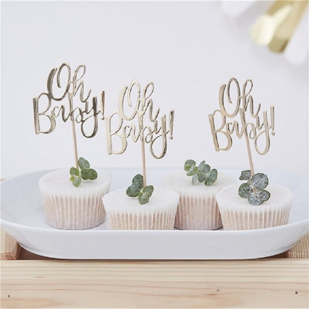 pics à cupcake baby shower oh baby