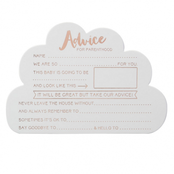 cartes conseils hello world baby shower