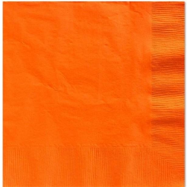 serviettes orange