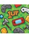 serviettes anniversaire jeux vidéo gaming game