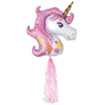 grande ballon unicorne licorne en hélium