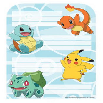 CARTES D'INVITATION POKEMON