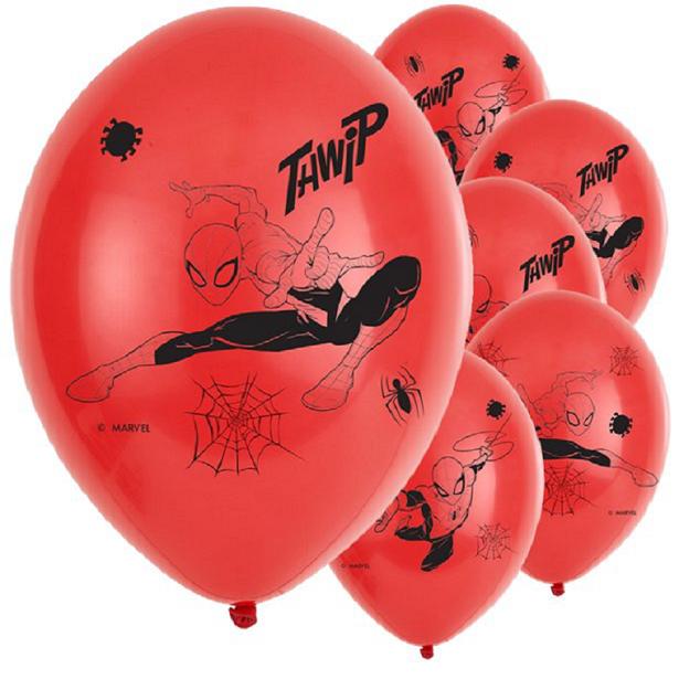 ballons spiderman anniversaire