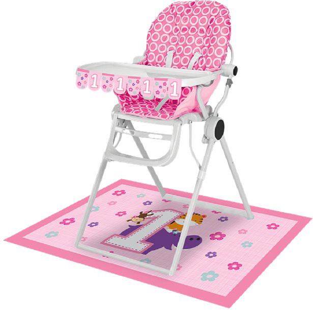 kit chaise 1er anniversaire fille