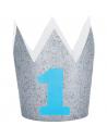 couronne chapeau 1er anniversaire garçon