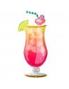 ballon cocktail tropical