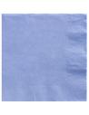 serviettes bleu bébé 33 cm