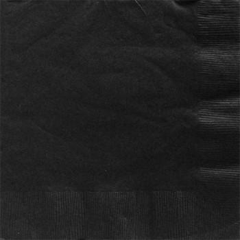 serviettes noir chic tendance 33 CM