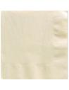 grandes serviettes couleur ivoire crème