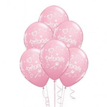 Ballons latex princesse fête anniversaire