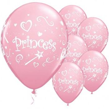 Ballons princesse anniversaire