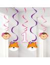 suspensions 1er anniversaire fille