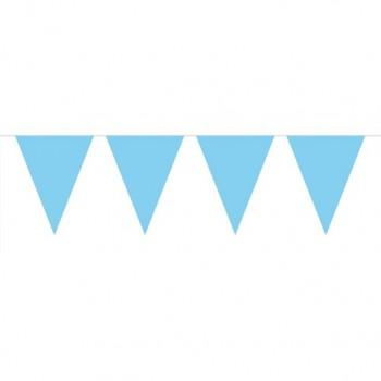 Guirlande de décoration bleu