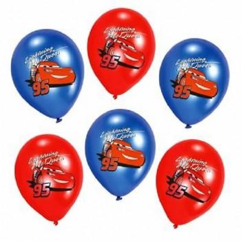 Ballons de fête cars anniversaire
