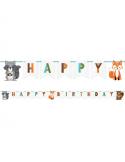 Guirlande anniversaire animaux de la foret en Suisse