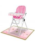 kit de chaise haute 1er anniversaire fille