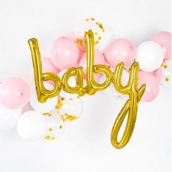 BALLON BABY EN DORé PAS CHER