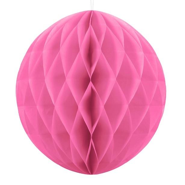 décoration en boule rose vif pas cher