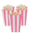 boite a popcorn rose clair pas cher