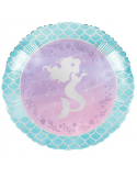 BALLON ALU MERMAID SIRENE PAS CHER