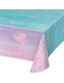 nappe en plastique mermaid sirene
