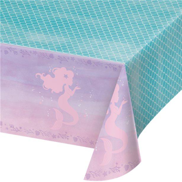 nappe en plastique mermaid sirene